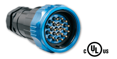 Socapex Multipin Connector