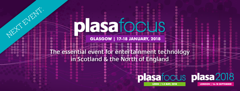 Phase 3 at PLASA Focus Events Exhibition in Glasgow