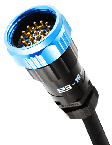 electrical power connector socapex