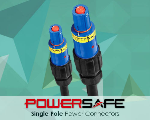 Powersafe Powerlock Single Pole Electrical Connectors