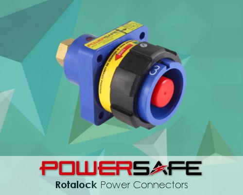 Powersafe Rotalock Single Pole Electrical Connectors