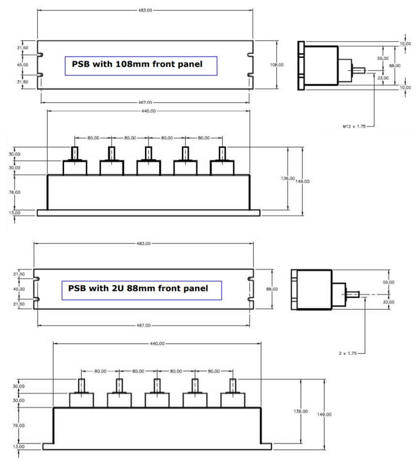 Powersafe Powerlock Box Drawings