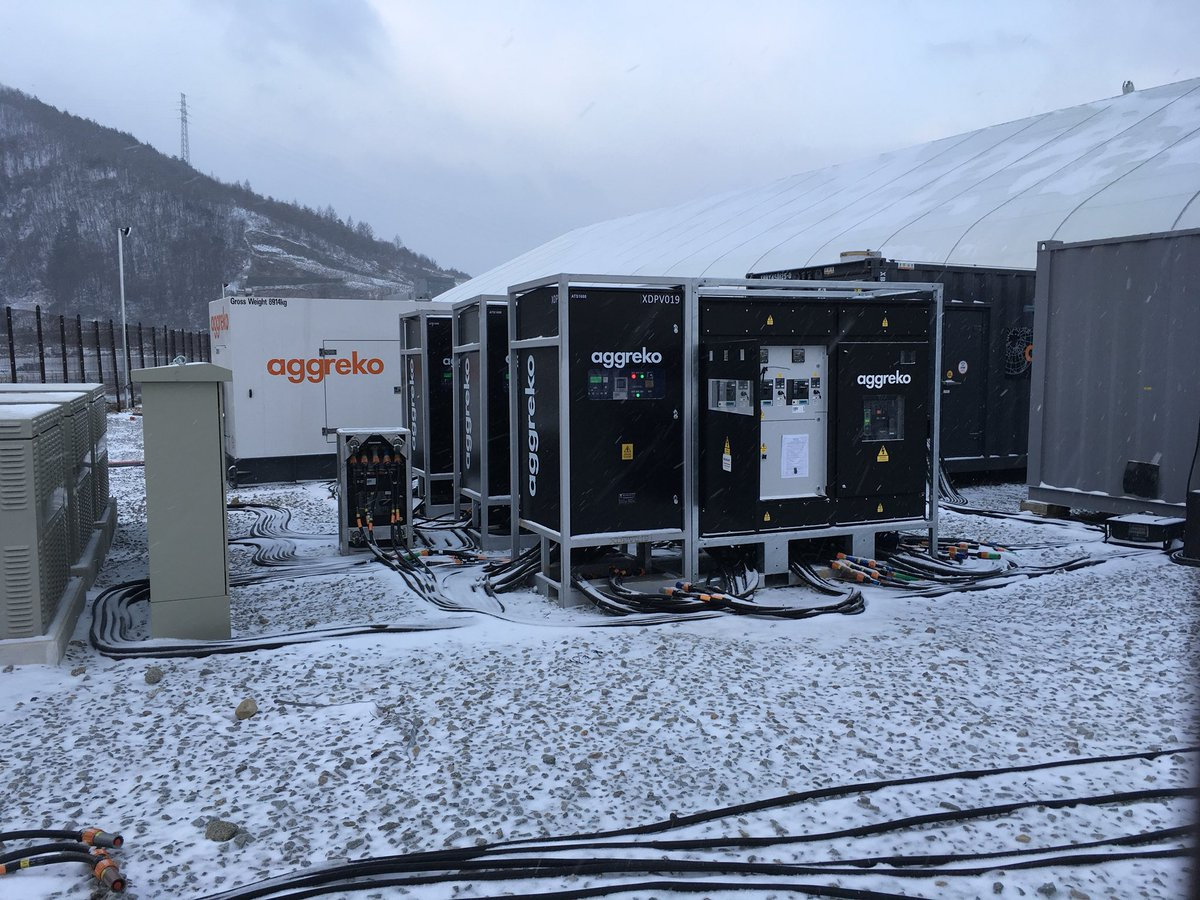 Phase 3 and Aggreko