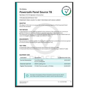 TR-05664 - Powersafe Panel Source T8