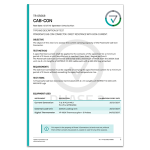 TR-05668 - CABCON