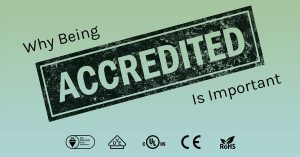 Why being Accredited is Important