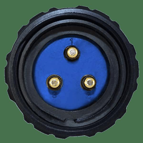 3-Pin Socapex Connector