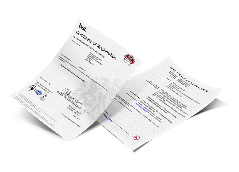 Certificates of Quality
